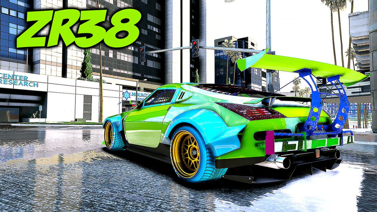 gamingauth0rity GTA 6 Graphics ZR380 Gameplay GTA ONLINE