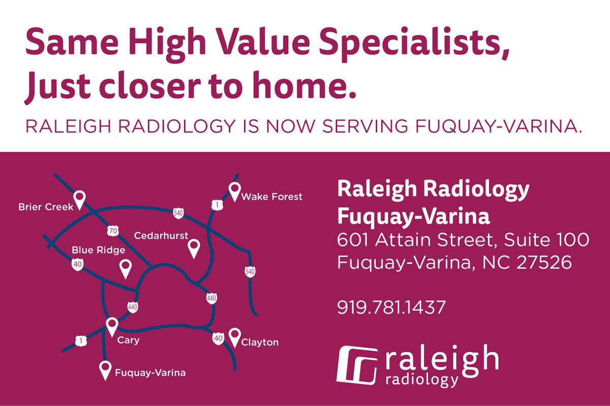 Raleigh Radiology on Twitter:
