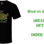 Image for the Tweet beginning: Weed 101 Geography T Shirt