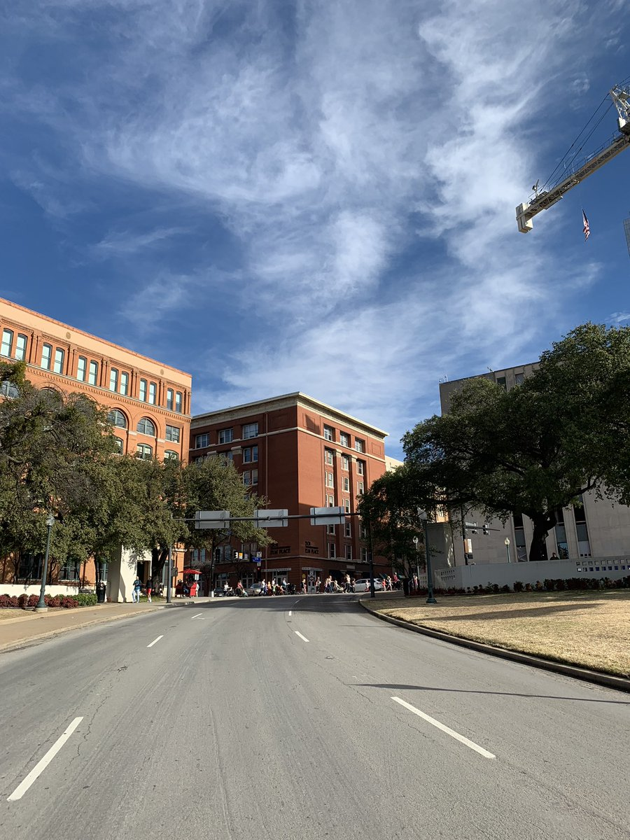 Walking Dealey Plaza with some weird mashup up of Oswald, Jerry, Newman, JFK, Roger McDowell, Jackie O, Kramer and Keith Hernandez running through my head.  #backandtotheleft #onemagicloogie