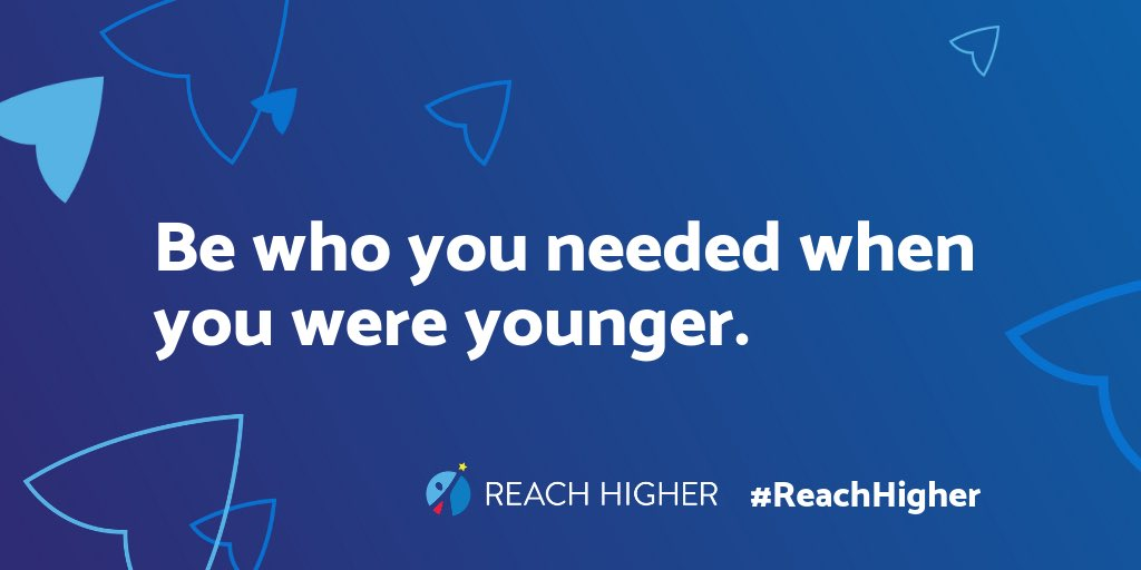 """Be who you needed when you were younger."" #BetterMakeRoom"
