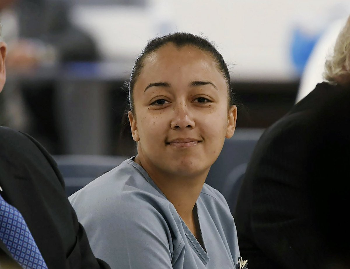 BREAKING: Cyntoia Brown was just granted clemency from a life sentence in prison for killing a man who bought her for sex when she was 16.  She'll be released on parole supervision on August 7.