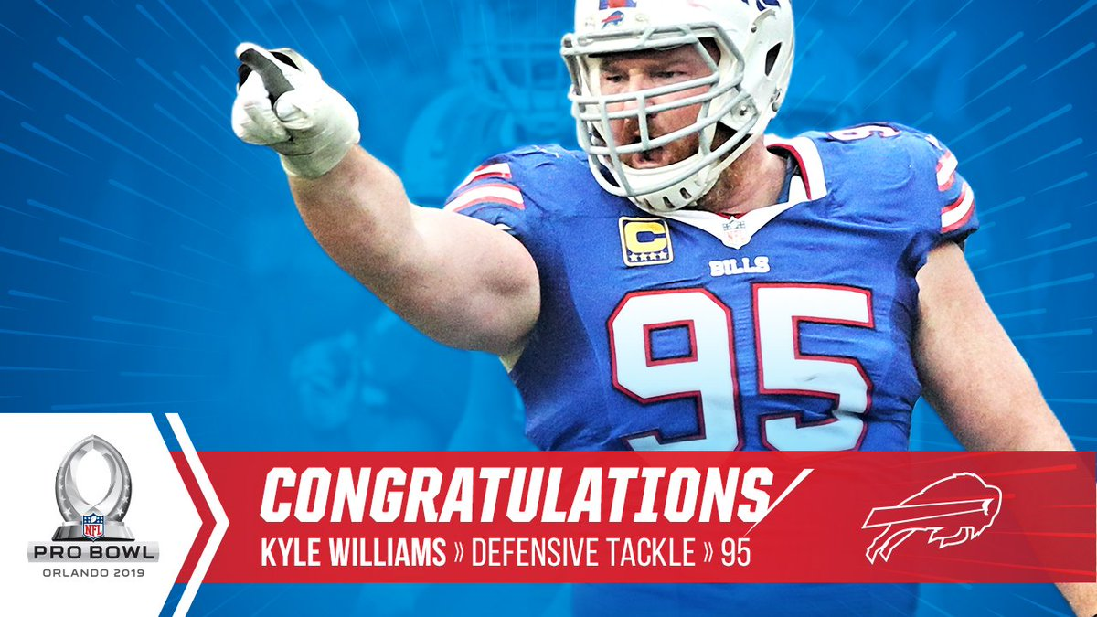 Buffalo Bills on Twitter: Congratulations to Kyle Williams on being