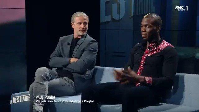 """Mathias Pogba sur la relation entre Mourinho et son frère : """"Sa renaissance, c'est le fait que Mourinho ait quitté le club, basta ! Le problème, c'était Mourinho, point à la ligne."""" #MUFC"""