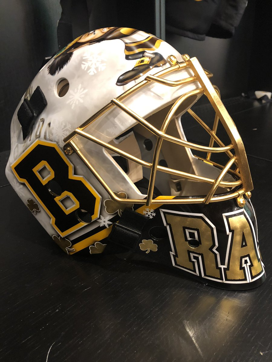 Tuuka Rask Boston Bruins Pro s Choice mask painted by  JessesCusDesign   MaskMondaypic.twitter.com P3HAhKL6RB df991761a