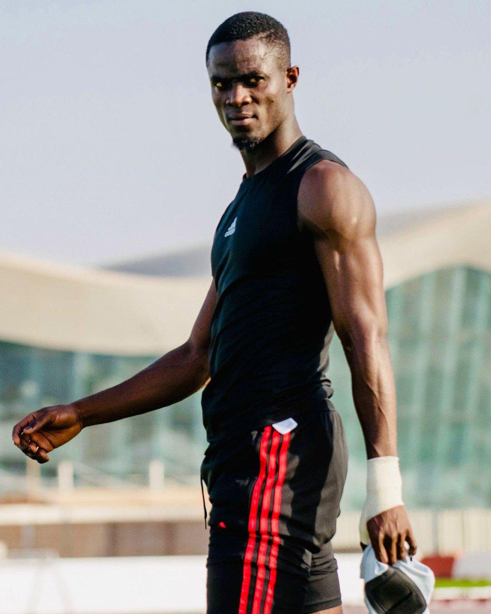 Training in Dubai. 💪🏾