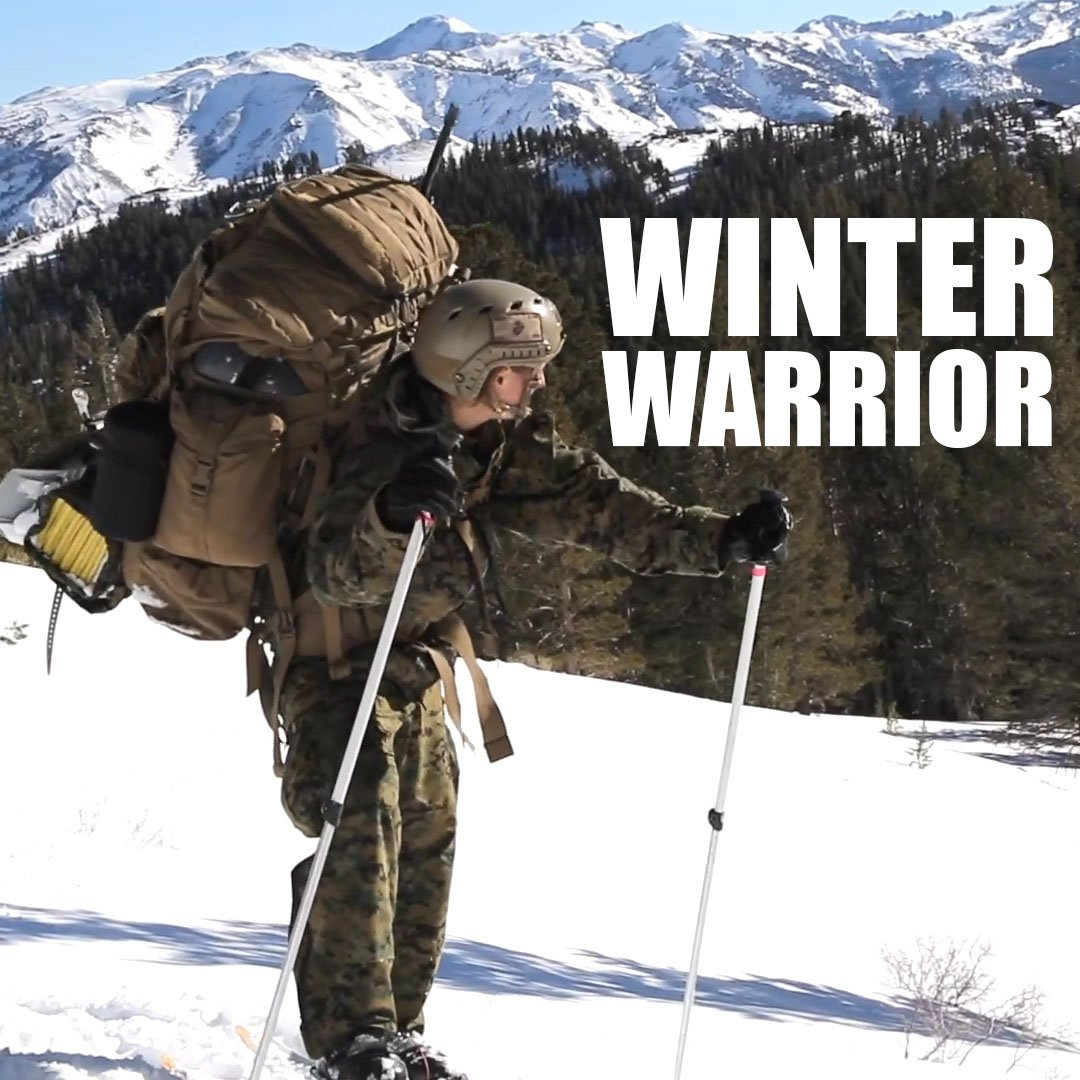 Today, the first female Marine graduated from Winter Mountain Leaders Course. Oorah, Marine.