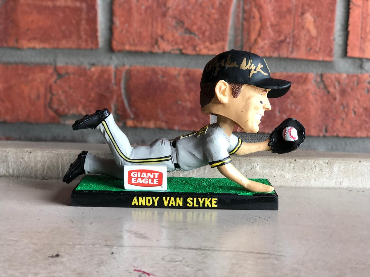 RETWEET THIS now for a chance to win a signed Andy Van Slyke bobblehead as we celebrate #NationalBobbleheadDay!