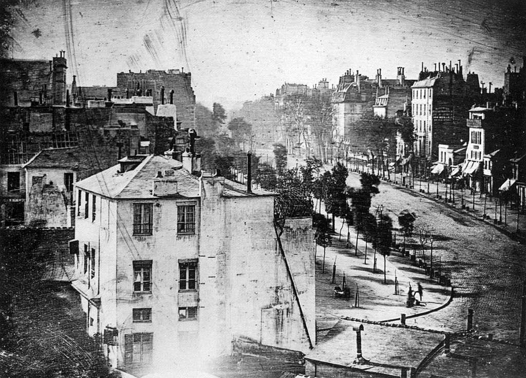 louis daguerre contribution to photography