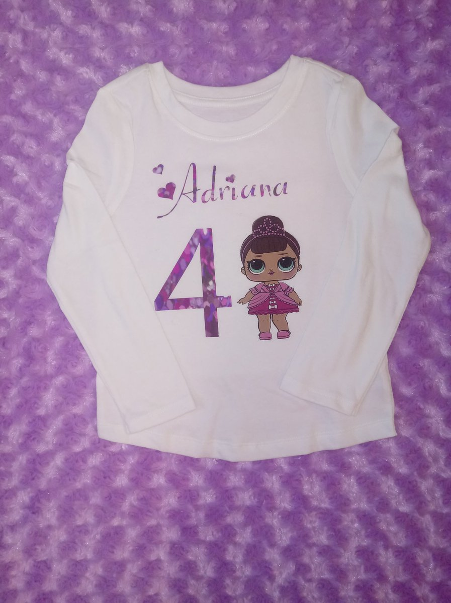 62d1ac1d Excited to share the latest addition to my #etsy shop: LOL Doll Birthday  Shirt