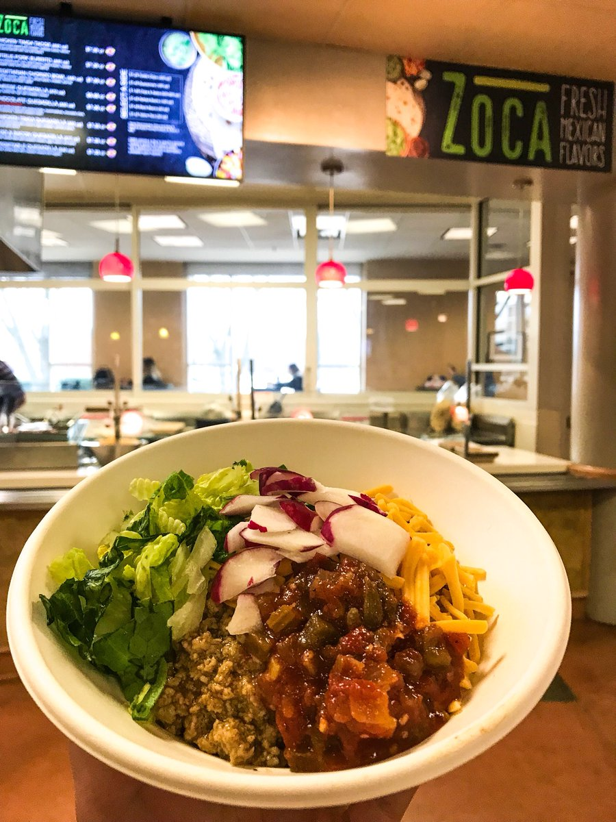 "JMU Dining Services on Twitter: ""Have you heard? 📢 We brought back Zoca (we miss you PC Dukes 😭) and put it in Festival! 🌮 #JMUDining… """