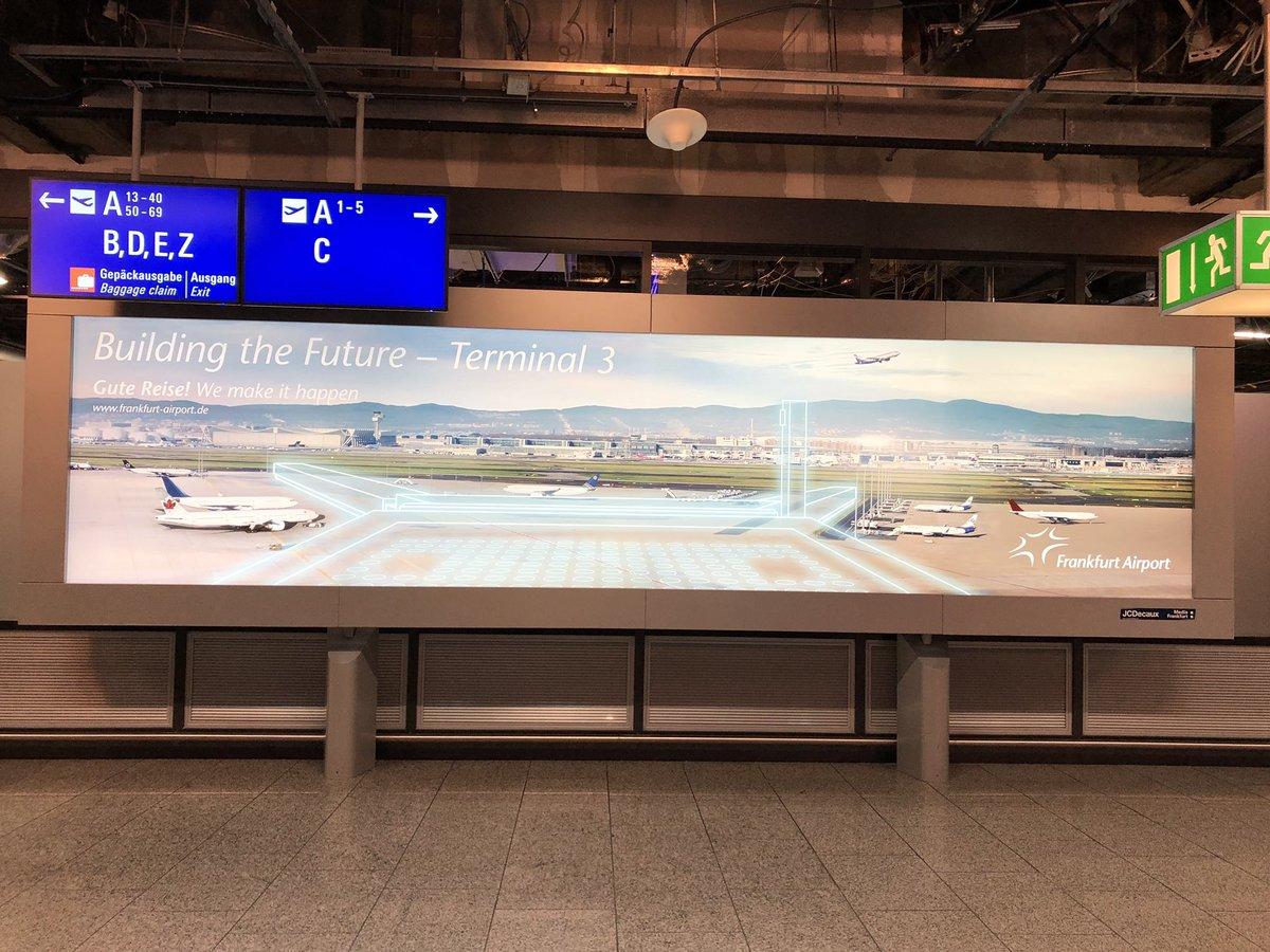 The future T3 for #Frankfurt 🇩🇪 #FRA ✈️