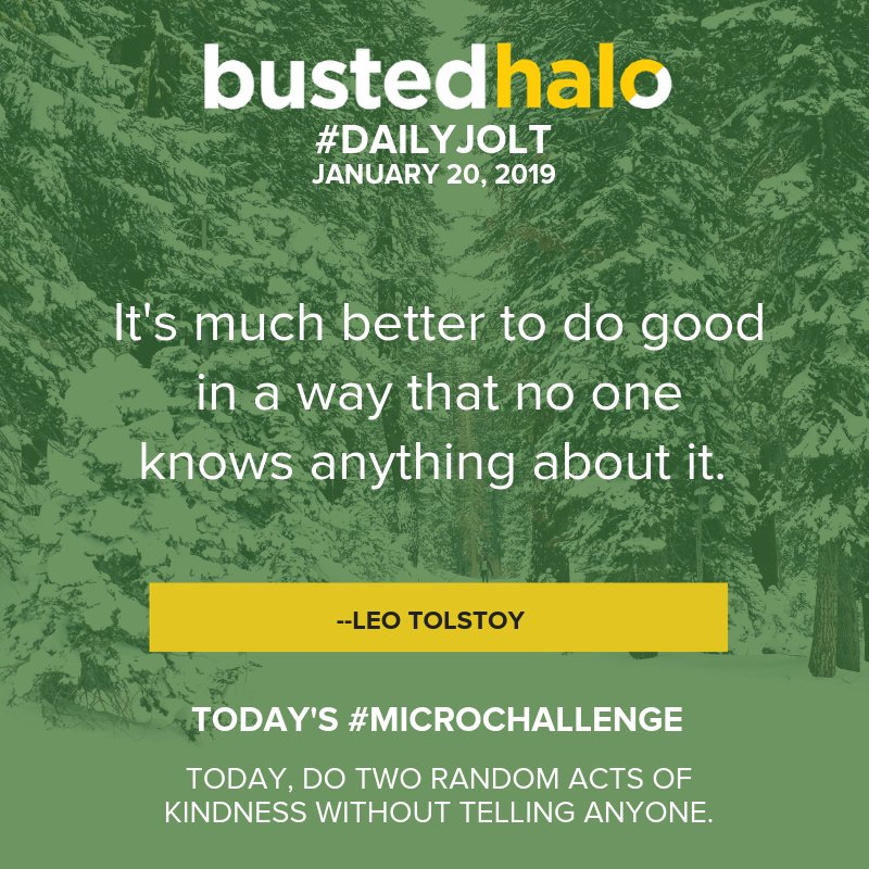 Today's #DailyJolt comes from #LeoTolstoy.