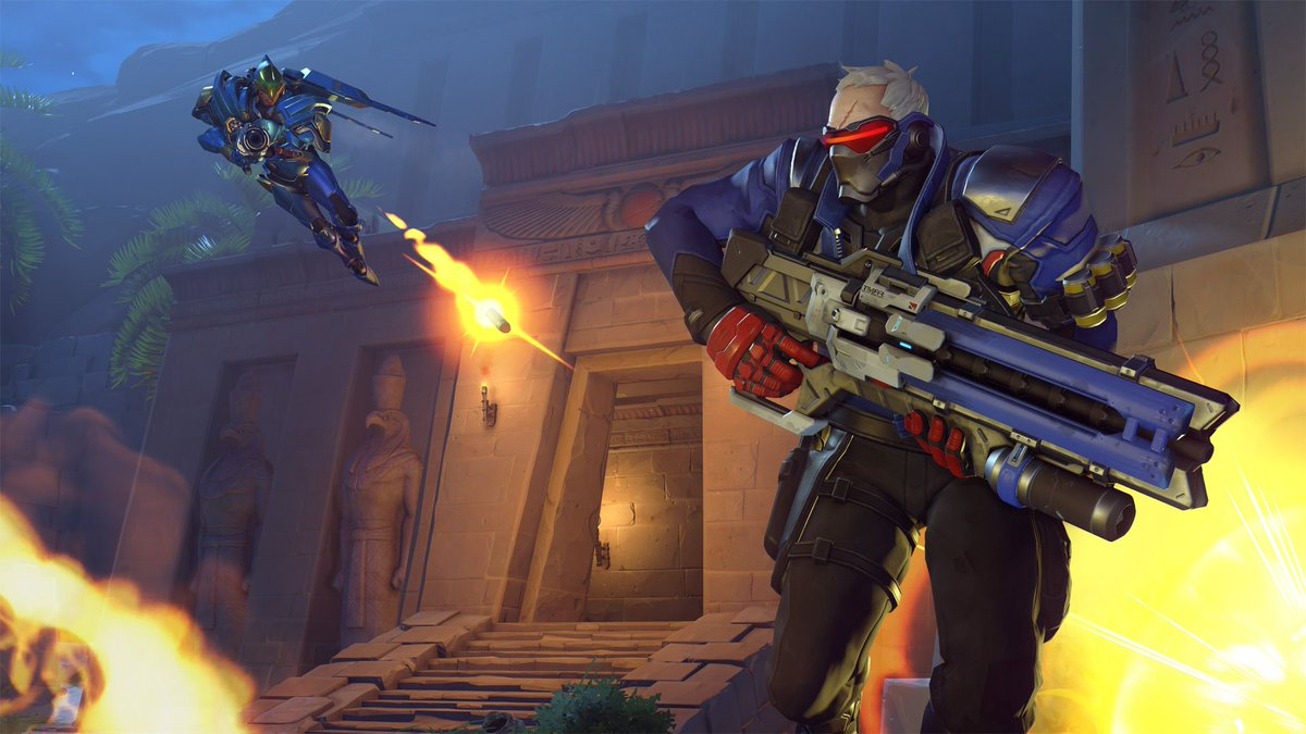 It's official. Soldier: 76 is the second queer character in the Overwatch universe. https://t.co/vUfoSsQwXV