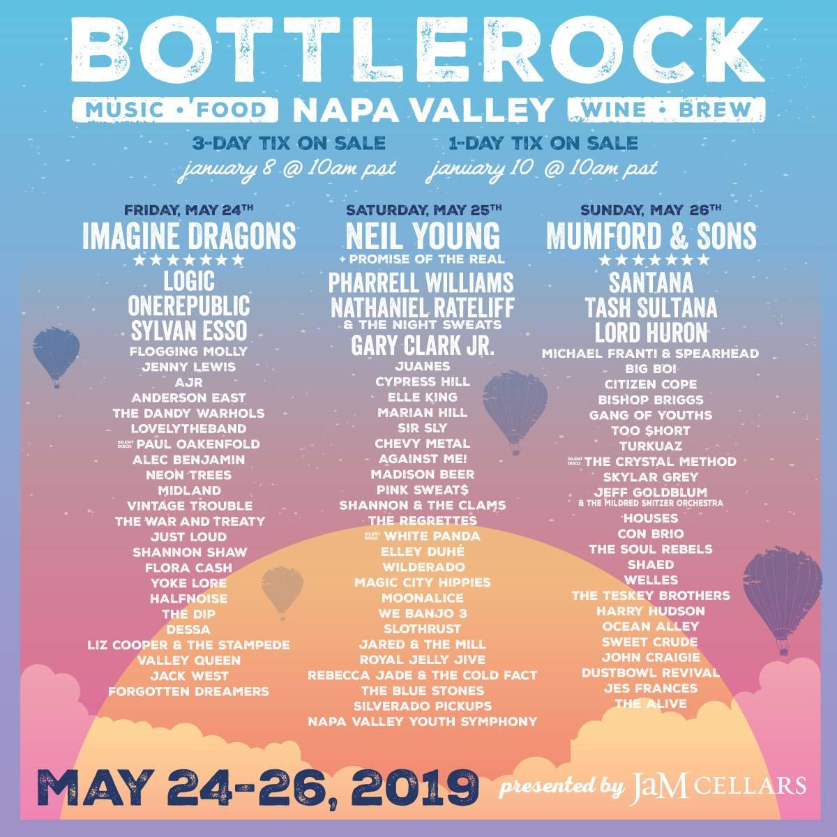 See you in May, Napa 🙌🏾 @BottleRockNapa http://bottlerocknapavalley.com/tickets