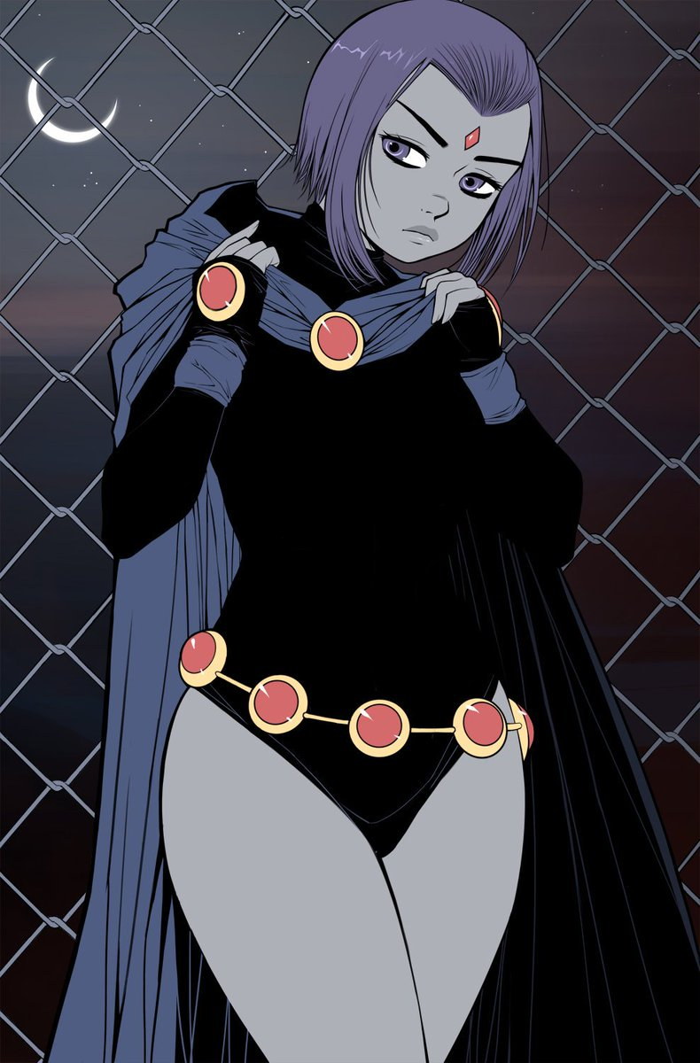 Also wanna draw more Raven!  Just not enough time in the day...😢 #Raven #TeenTitans #Dccomics