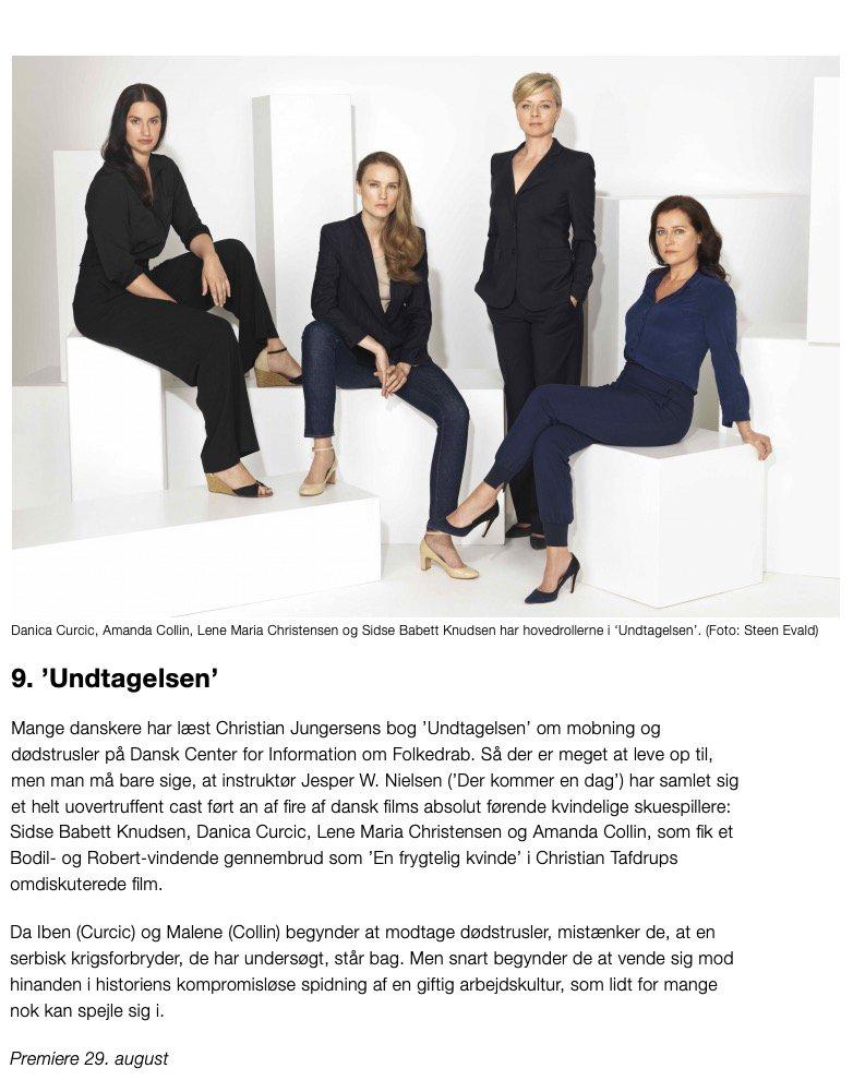 Skuespillere danske kvindelige Dansk film