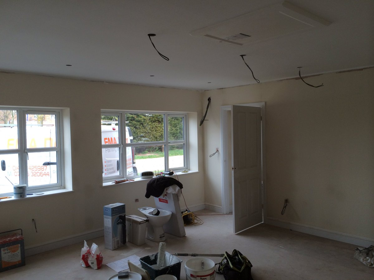 More Space Garage Co On Twitter Garage Conversion Having 2nd Fix