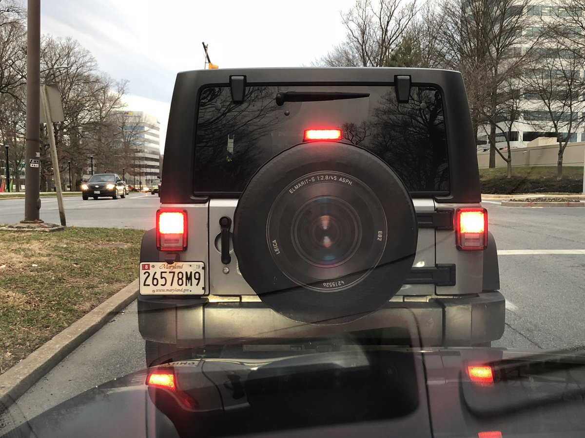 I shutter to think how much this spare tire cover must have cost. https://t.co/NVJPNPIbEH