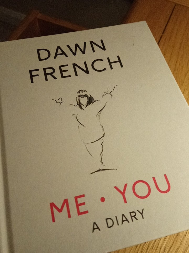 This book&diary has been a welcome addition throughout the last year, 2018 had highs and lows all recorded in its pages, along with daily positives from my husband and I thanks @Dawn_French for your creation #diary #meyou