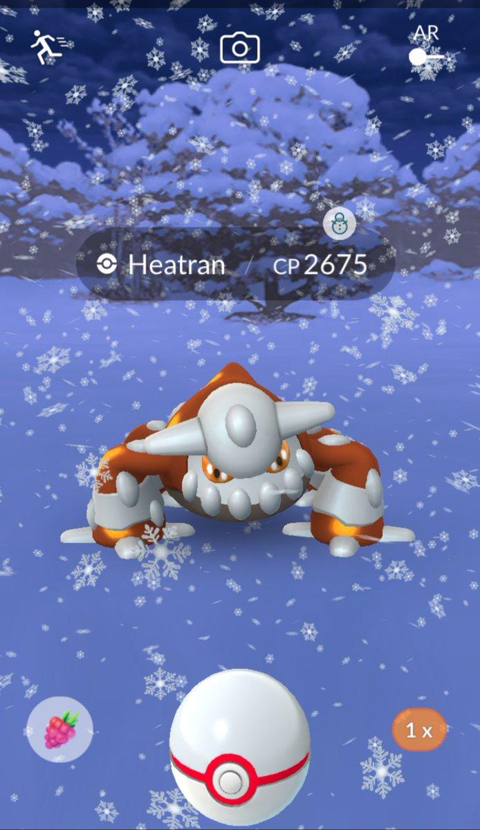 Heatran pokemon go