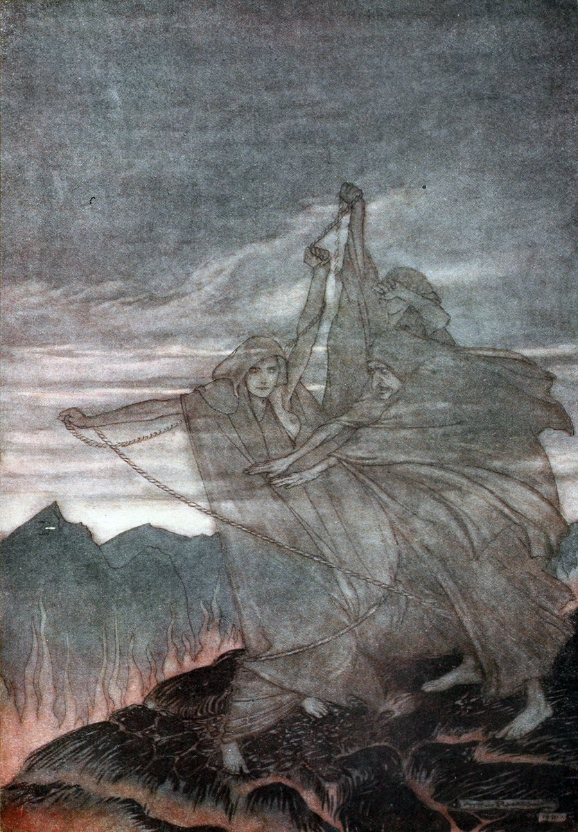 The History Of Vikings On Twitter The Norns Are Women Of