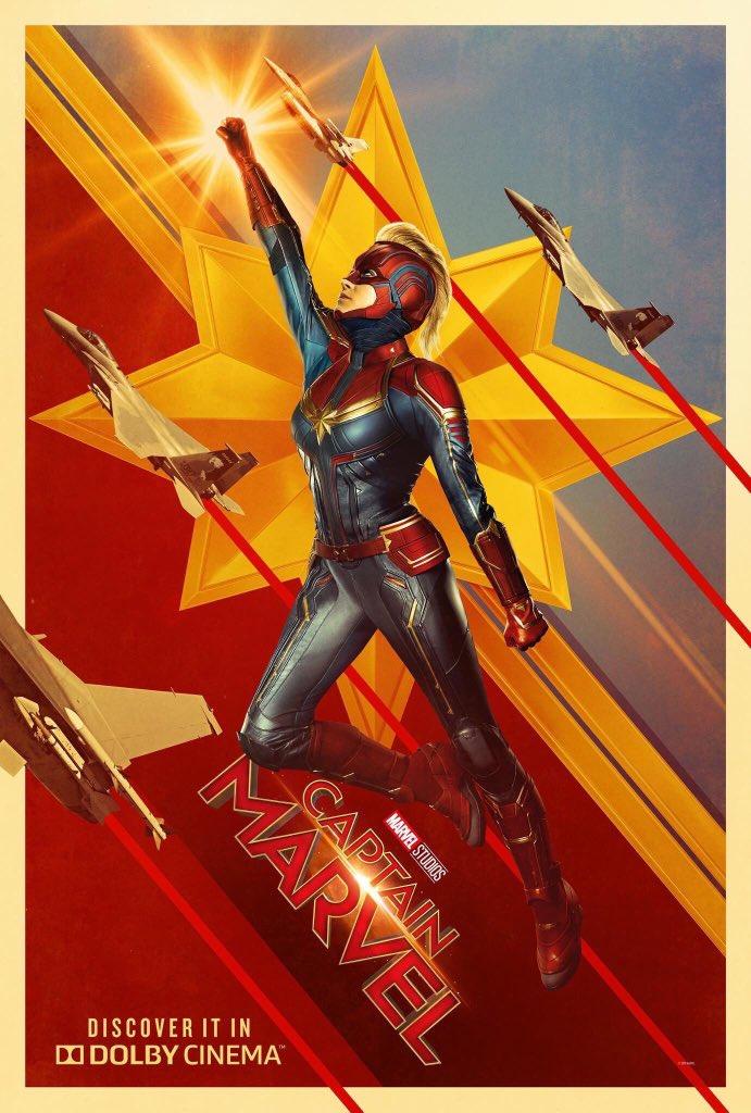 Capitã Marvel - Poster Imax