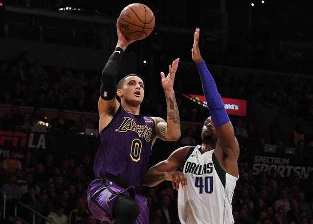 Lakers Nation On Twitter Kyle Kuzma Returns As Lakers Look