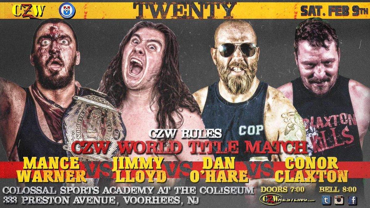 Wrestle World - Combat Zone Wrestling returns to Voorhees