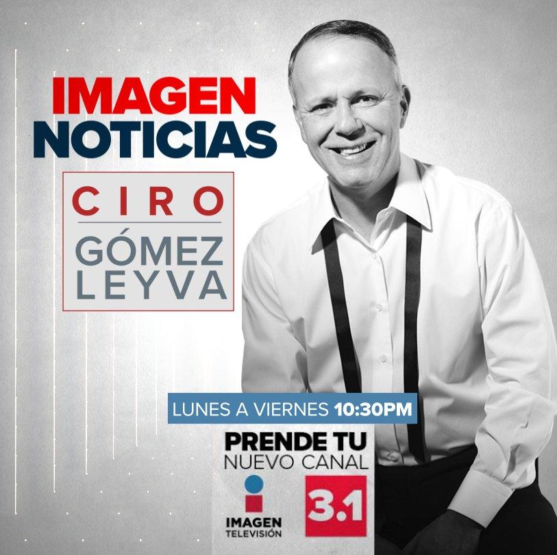 #CiroEnImagen Ahora también nos puedes ver en vivo en Twitter  https://twitter.com/ImagenTVMex   Los esperamos a las 22:30 hrs. por @ImagenTVMex