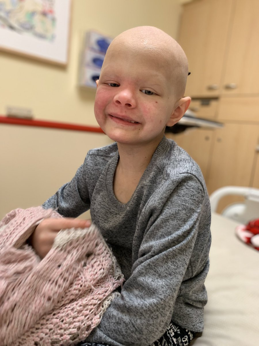 Today she opened my eyes to a whole new definition of #TwoADays...rocked radiation 17 of 28 and chemo day one of five for week 17 of 44...this was at the end of the day...HUGE smile! Still has yet to complain...mind blown! #MotivationalMonday #PalmerStrong #Perspective <br>http://pic.twitter.com/kfhoajOgTE