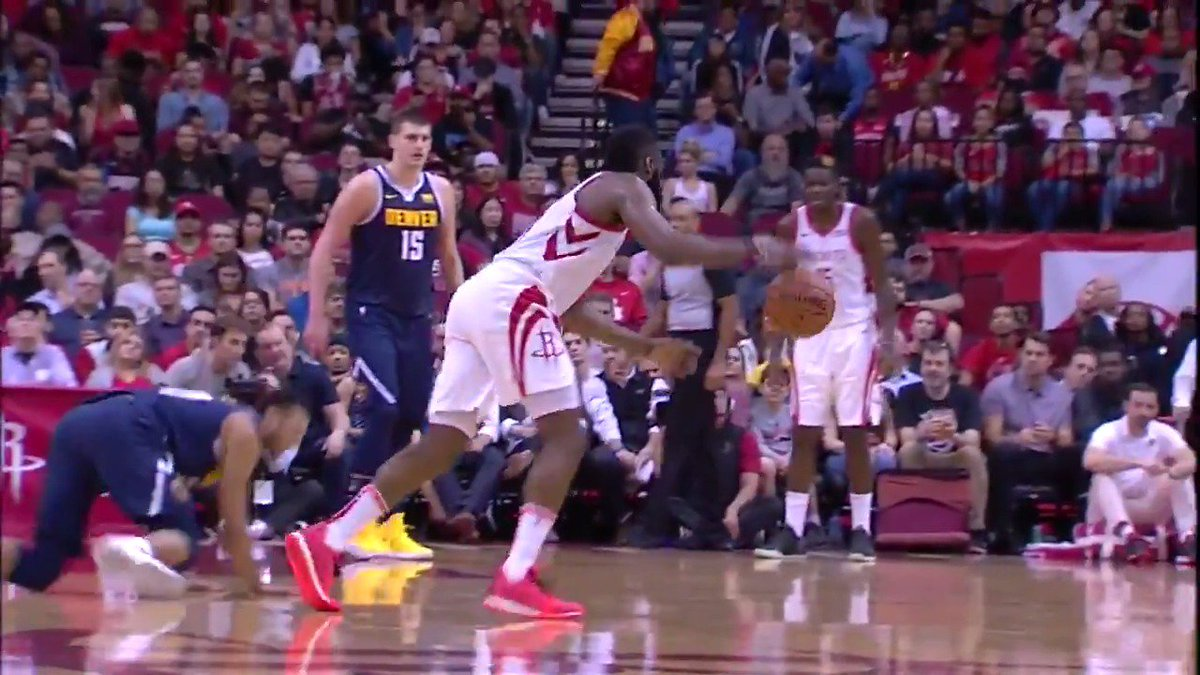HARDEN DROPPED HIM