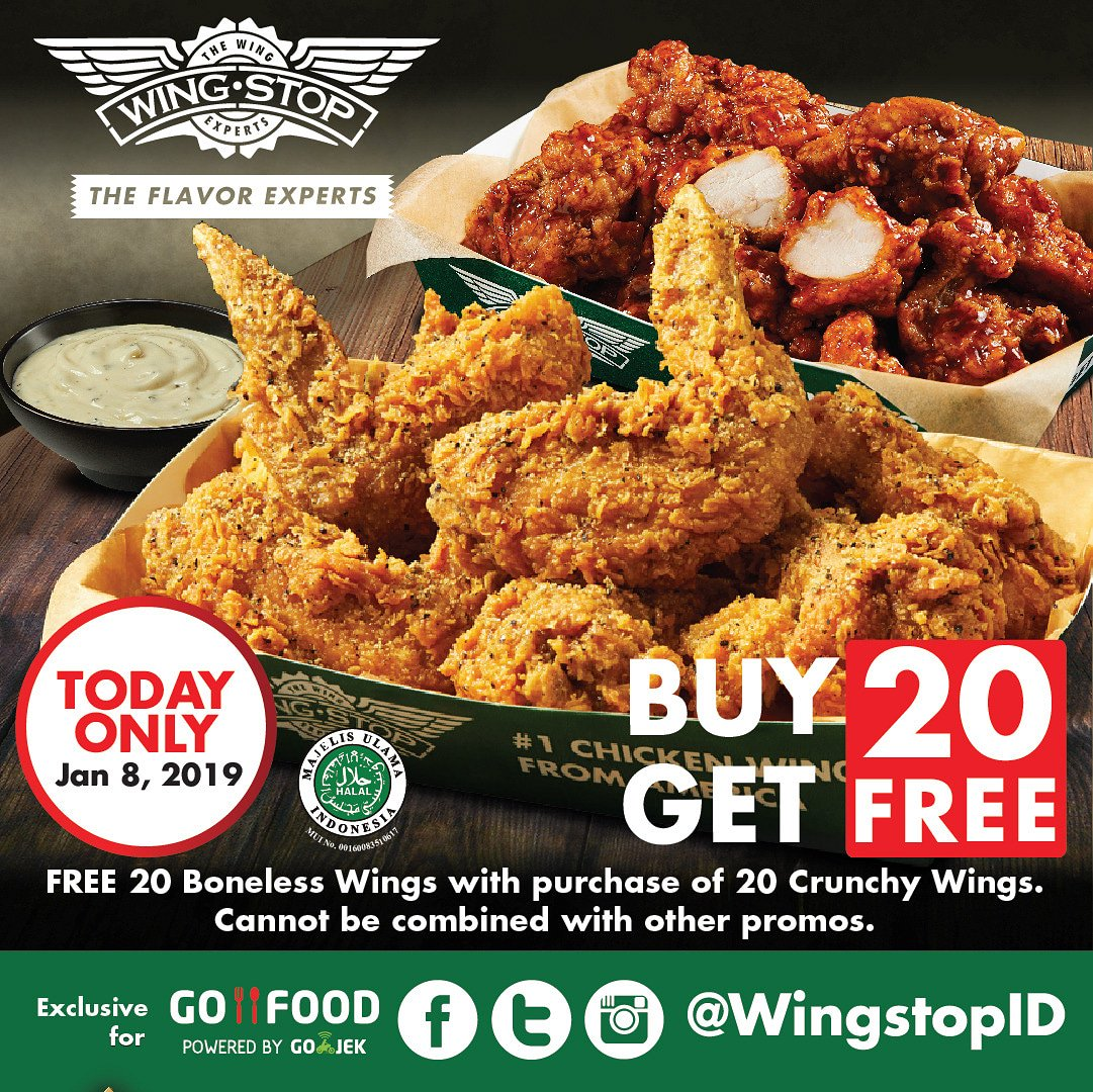 Wingstop Indonesia On Twitter Today Grab Your Wings Thru Gofood