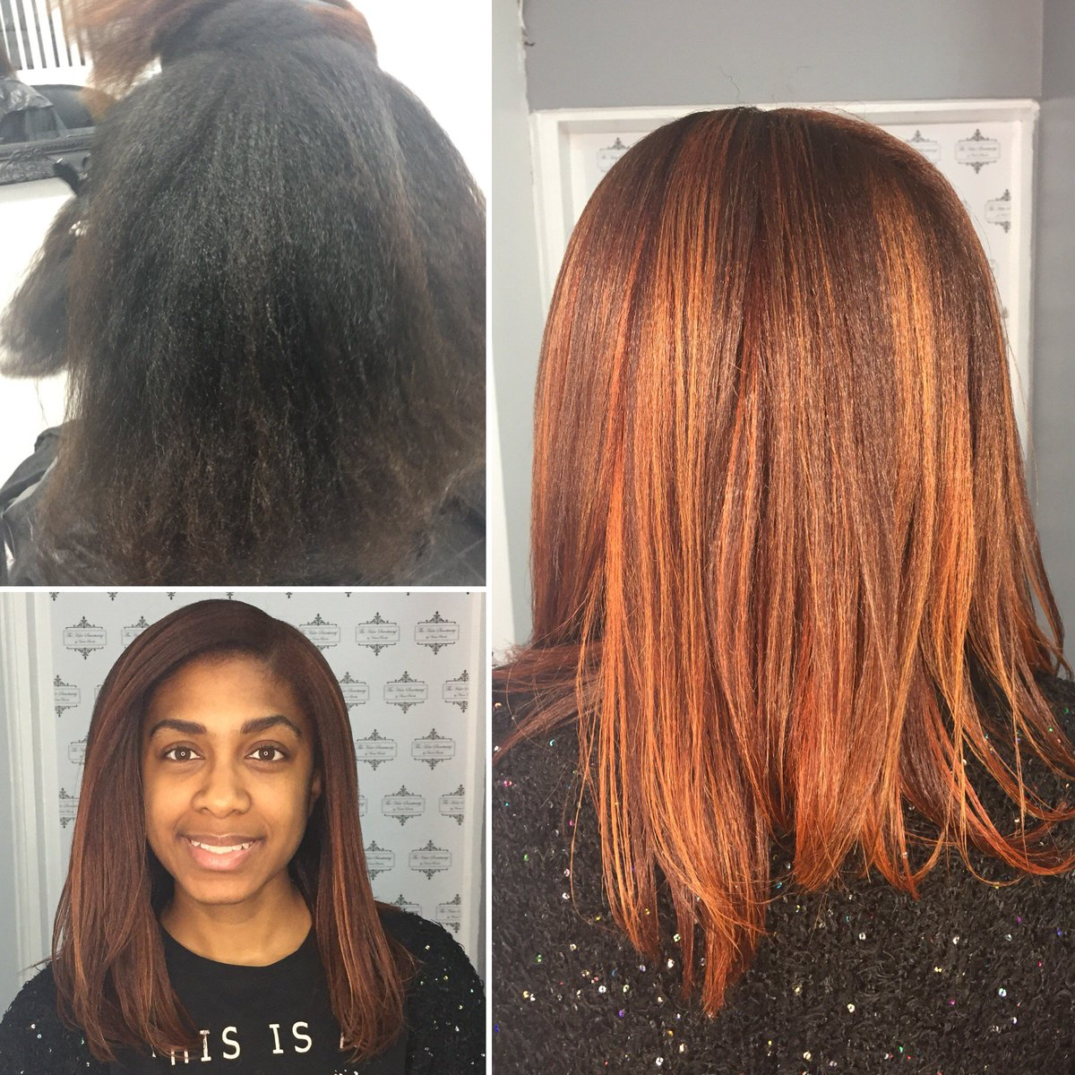 A hairdresser holds a trusted place in a woman's life ~ Linda Wells  • Colour transformation using all @FUDGEHAIR Speed bleach with 3% to pre lighten  Highlights 77/43 with 3%  Full head colour 7/34 & 99/43 with 6% . . .  #haircare #colourcrush #haircrush #tranformationtuesday