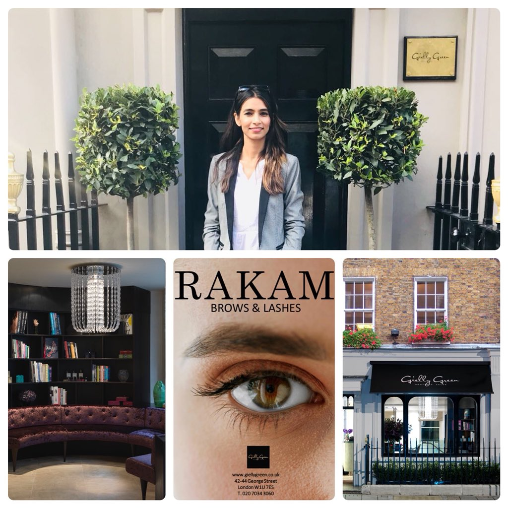 R A K A M Brows Lashes London Rakambrows Twitter