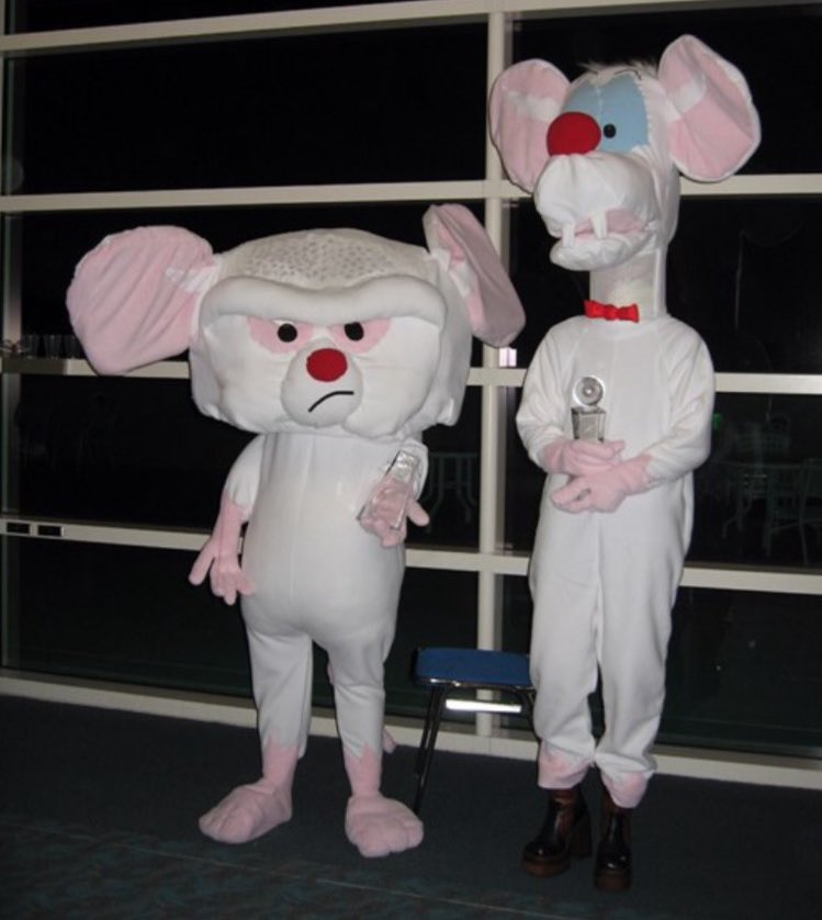 Pinky Brain Costume Scientists Create Genius Mice By Injecting