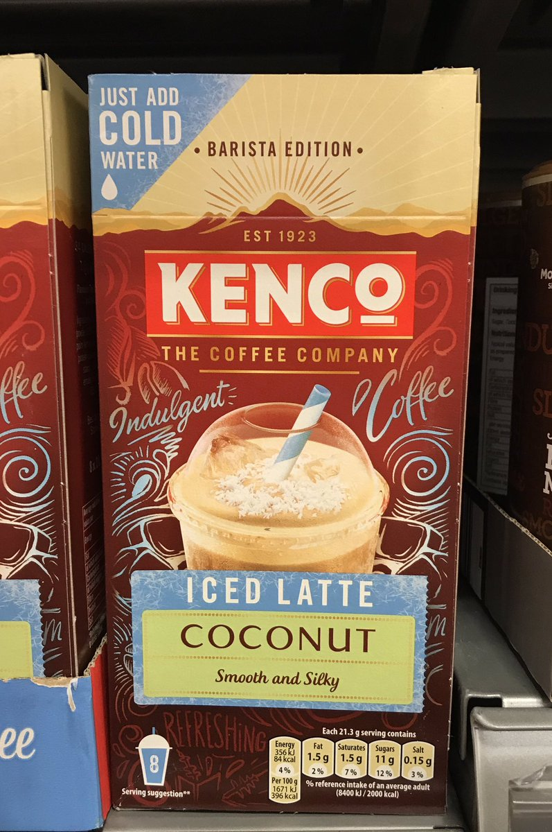 Well This Is New On Twitter Iced Latte Coconut At