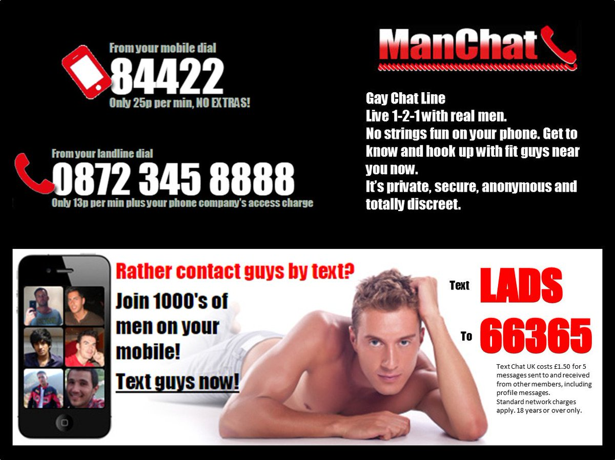 Chat line for men