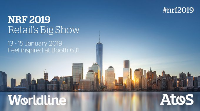 Energizing digital transformation, @Atos and @WorldlineGlobal will be present at #NRF2019 in...