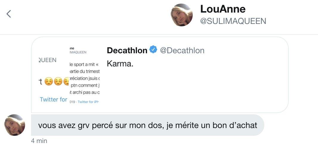 Decathlon Decathlon Twitter
