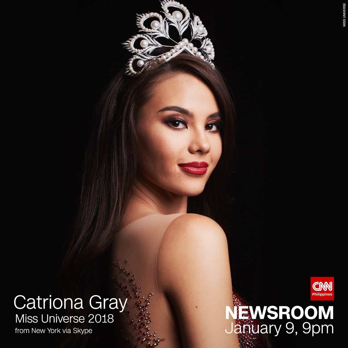 We&#39;ll speak to #MissUniverse  2018 @catrionaelisa to talk about life after winning the crown.  Catch her interview tomorrow on Newsroom at 9pm. <br>http://pic.twitter.com/RVRFKz0onO