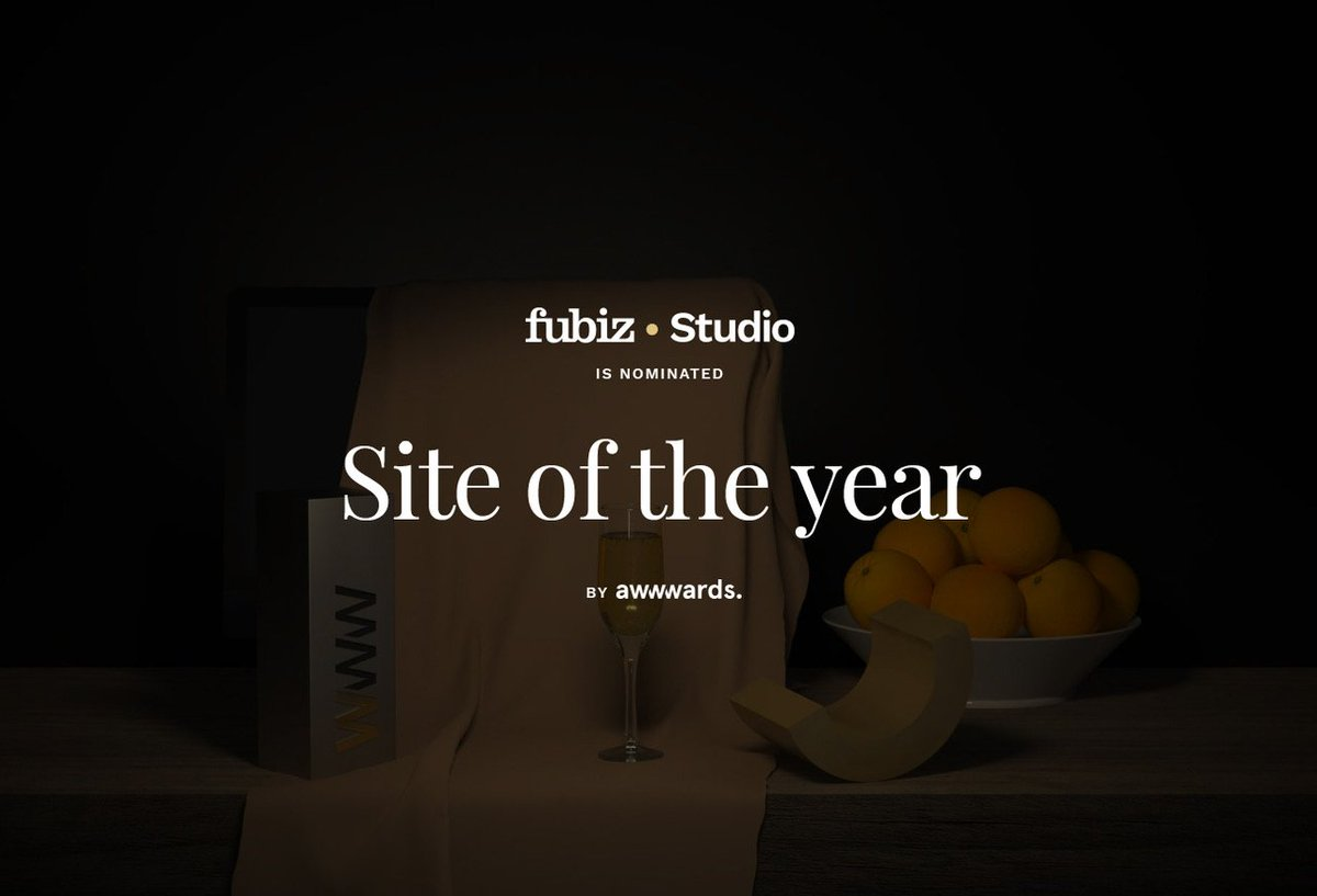 Happy 2019 ! Fubiz • Studio is Nominated for Site of the Year. 🎉🏆  Let's Vote : https://t.co/gqfIls2mkb https://t.co/ZCAwbKZ2Gv
