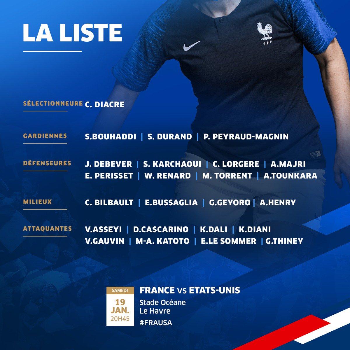 Équipe de France féminine de football - Page 4 DwYdxeeXcAAOjlC