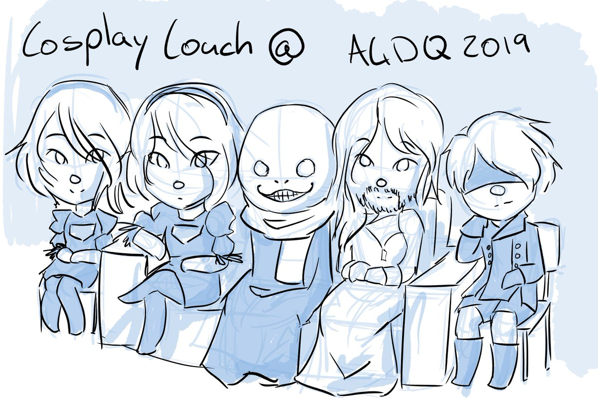 I cannot get over how perfect that couch crew are for this Nier run  Please tell them I love them all @GamesDoneQuick #AGDQ2019<br>http://pic.twitter.com/flw0ocTL3i