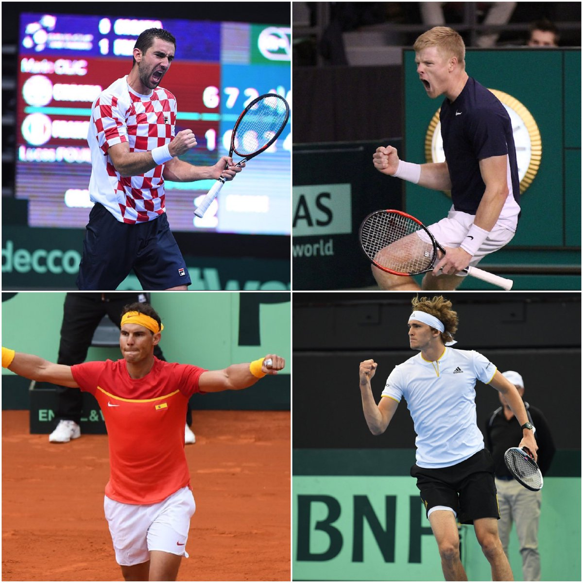 Will any of these #DavisCup stars win the #AusOpen? Action Down Under begins in six days 🇦🇺