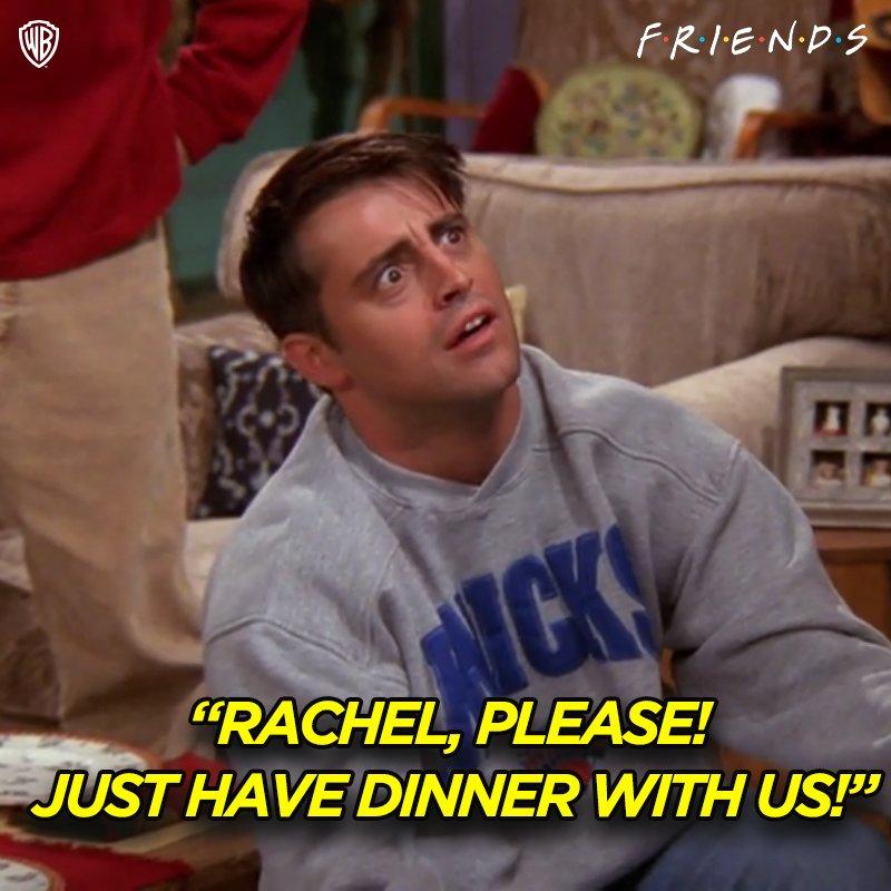 Don't make Joey beg.