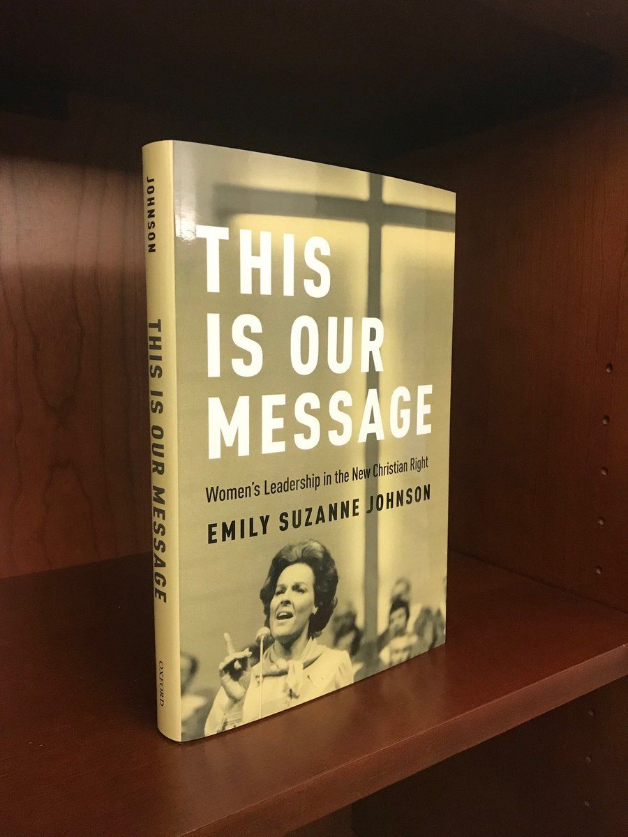 Look! My book is a book! #OurMessage #twitterstorians @OUPReligion @OUPHistory Preorders ship in two days! global.oup.com/academic/produ…