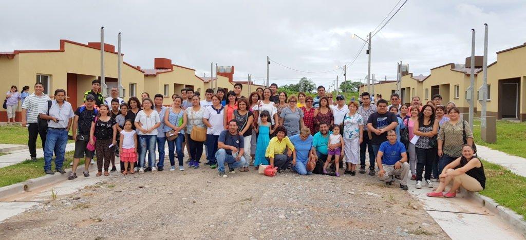 Familias de Calilegua conocieron la ubicación de sus viviendas. http://bit.ly/2FktBQT #HayGestión