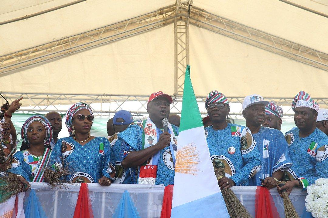 Vote Buhari and Sanwo- Olu in 2019 elections, Ambode urges Lagosians