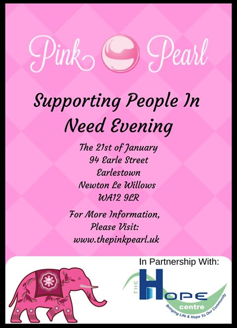 On the 21st January, Pink Pearl will be hosting a meal for the most #vulnerable people in #StHelens - please retweet and help us raise funds for this wonderful event! #homelessness #foodbanks #TuesdayMotivation